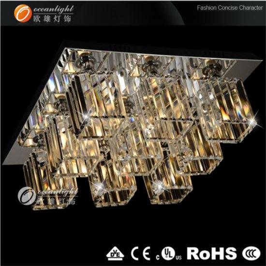 Silver Chandelier Ceiling Pendant Lamp (OM766)