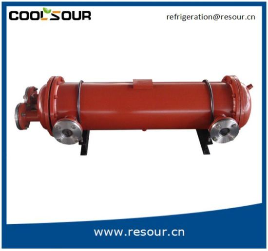 China Shell Tube Water-Cooled Evaporator for Refrigerating Unit