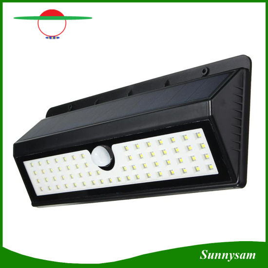 Outdoor 62 Led Solar Wall Light Wireless Motion Sensor Waterproof Ed Lighting For Garden Pictures