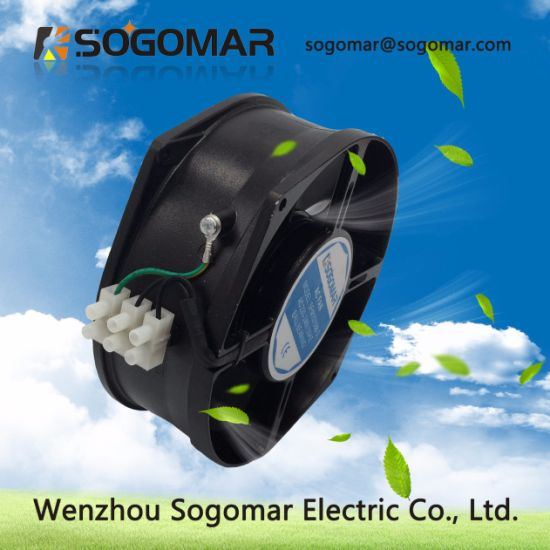 Stable Function Industrial Exhaust Fans 172*150*55mm 230V with Ce