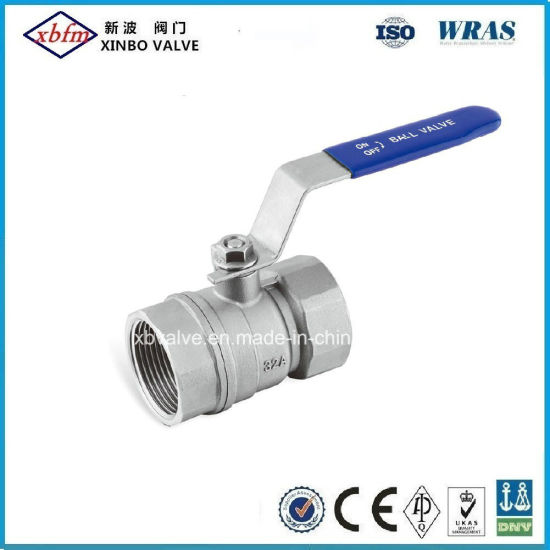 2PC Reduce Port Stainless Steel Ball Valve 800psi pictures & photos