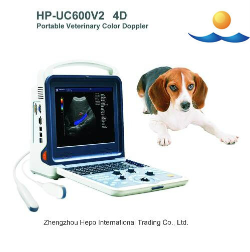 Portable Color Doppler Veterinary Ultrasound Scanner pictures & photos