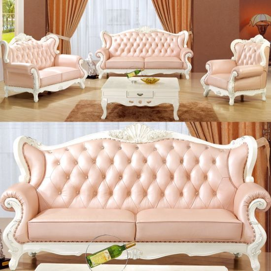 China Italian Leather Sofa for Living Room Furniture (992A ...