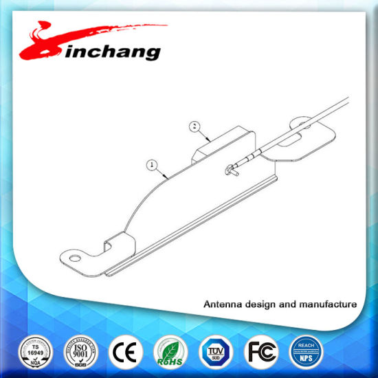 1.13 Cable 10cm 1575.72MHz Car GPS Internal Antenan with Ipex Make in China