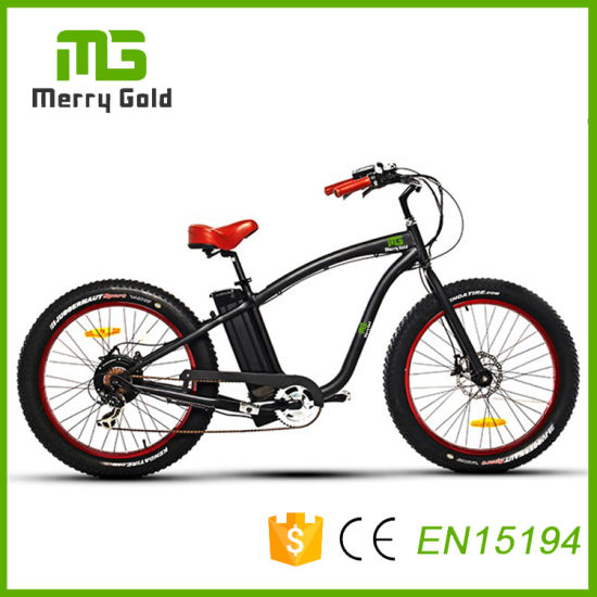 Chinese Mountain 48V 500W Fat Tyre Electric Dirt Bike Bicycle pictures & photos
