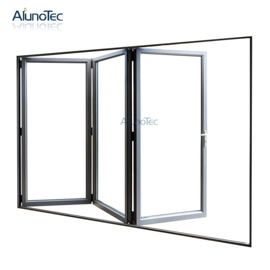 China High Quality Double Glazed Folding Door Price Available In