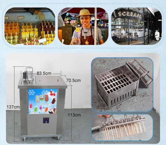 2 Molds Ice Popsicle Making Machine Lolly Maker pictures & photos