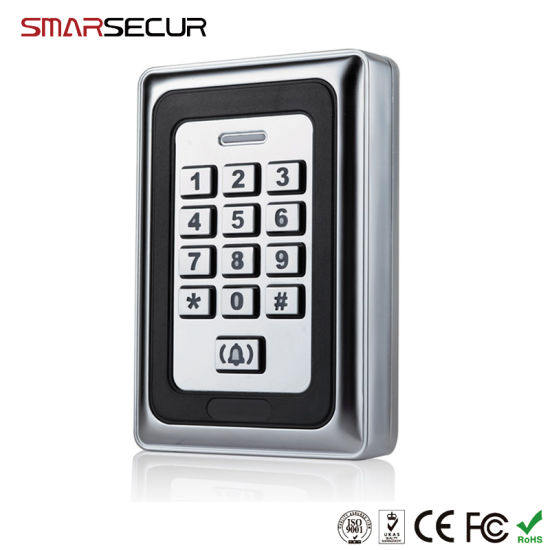 Smarsecur 125kHz RFID Keypad Access Control System for Home/Office/Bank pictures & photos