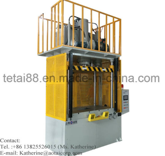 Die Cast Trim Press Hydraulic Gates Overflows Edge Deburring Machine pictures & photos