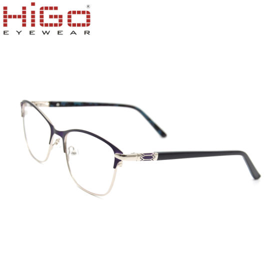 2018 New Arrivals Fashion Stainless Steel Glasses Metal Optical Frames pictures & photos
