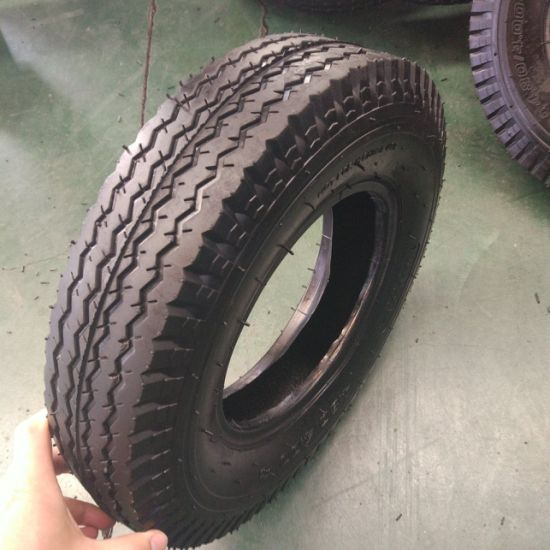 4.00-8 New Style Pneumatic Rubber Tyre and Tube for Wheel Barrow