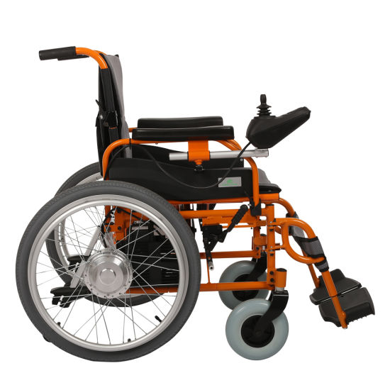 Greenpedel China 24V 250W Power Motor Folding Climbing Electric Wheelchair