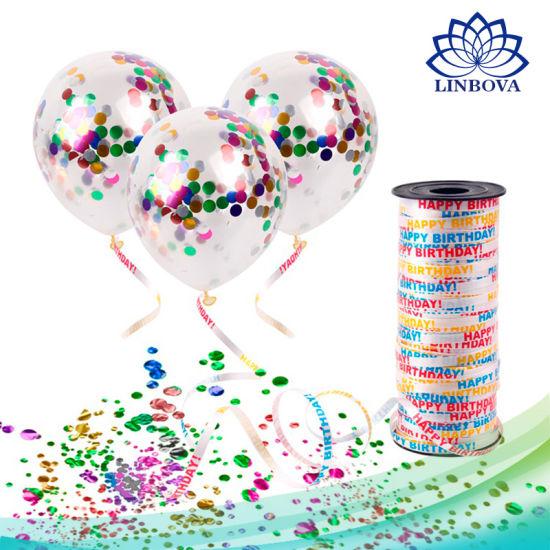 Confetti Balloon Romantic Decoration Magic Balloons for Birthday Wedding Party Supplies