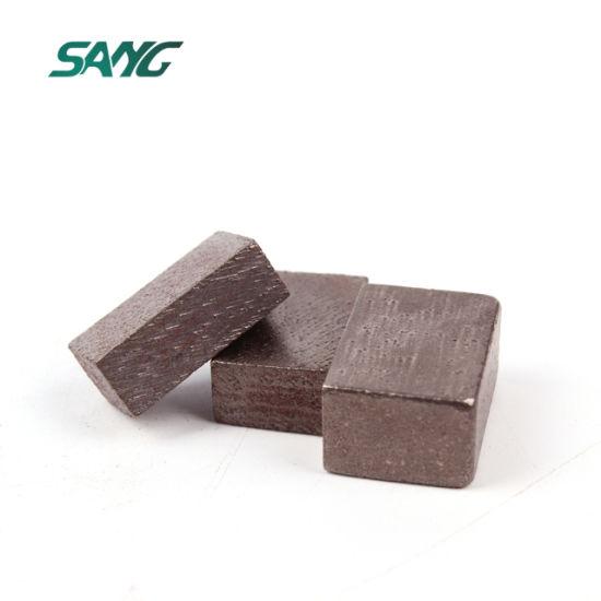 Diamond Saw Blade Segments for Cutting Stone Marble, Granite, Sandstone