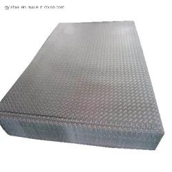 ASTM A36 Checkered Steel Diamond, Foot Floor, Teardrop Plate