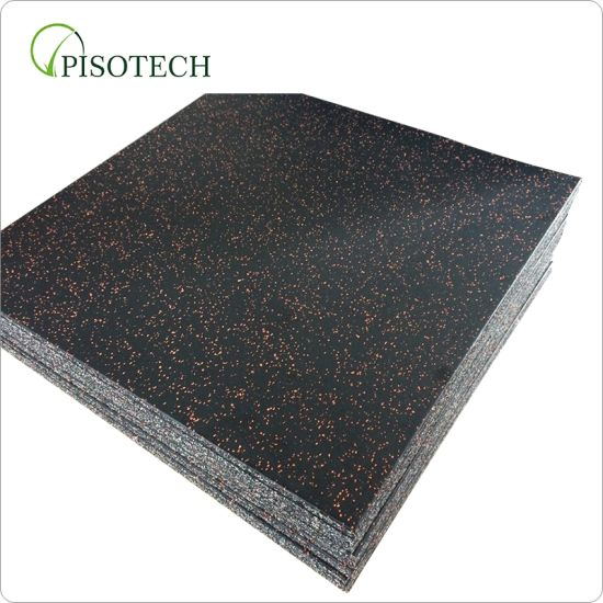 Wholesale Free Samples Crossfit Rubber Tile Mat/ Rubber Gym Rubber Flooring