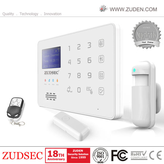 Wireless Home GSM Alarm System with Ios & Android APP Operation