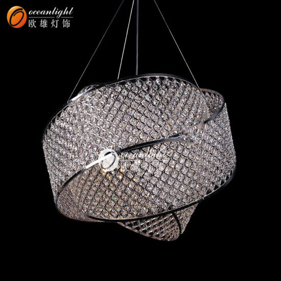 classic pendant lighting brushed nickel new product classic crystal pendant lighting hanging lights ow063 china
