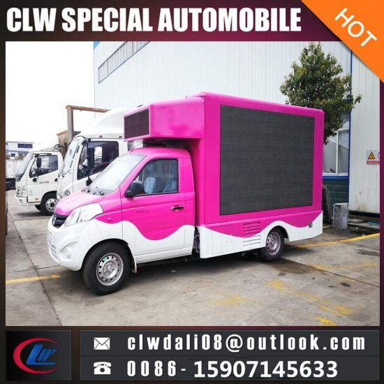 LED Display Advertising Truck, Outdoor Mobile Advertising Truck, Mini LED  Screen Truck for Sale