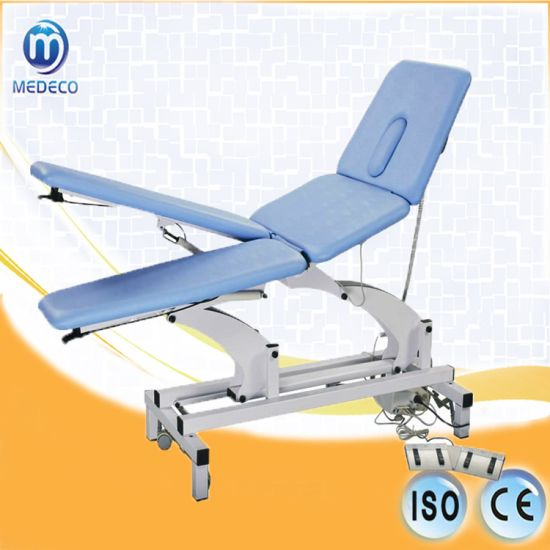 Hospital Theray Equipment Me-4 Four Sections Treatment Massage Table Couch pictures & photos