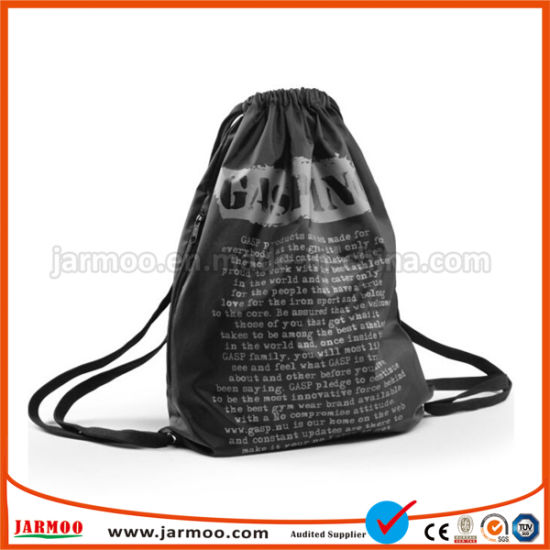b65fb47b65 210d Oxford Drawstring Bag Double-Shoulder Bagpack, , Promotional Gym Bag  pictures & photos