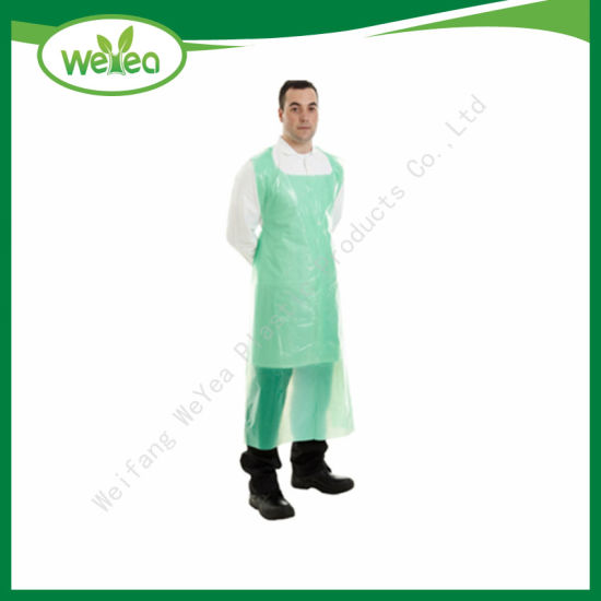 Disposable HDPE Plastic PE Apron on Roll for Hospital with High Quality
