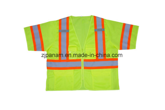 Short Sleeve Mesh Vest with ANSI107-2015 Approved