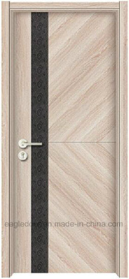 China Melamine Laminate Skin Finish Door With Wooden Frame And