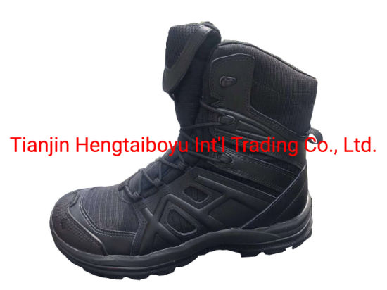Camouflage/Canvas/Combat/Tactical/Jungle/Desert/Police/Army/Military Boot