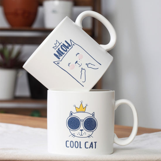 Promotional Mug Printed Wholesale Custom White Ceramic Coffee Mug