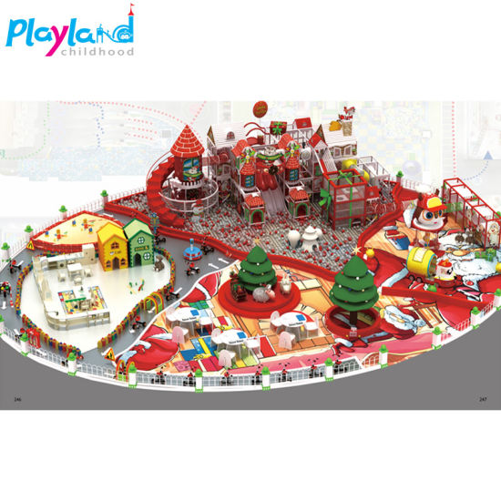 Childhood Playland Kids Playground Indoor-Indoor Soft Play for Sale