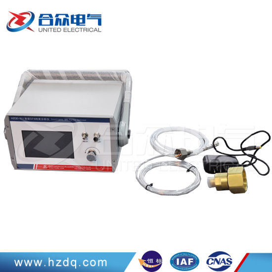 Sf6 Gas Purity Analyzer / Portable Gas Purity Detector/ Lab Equipment