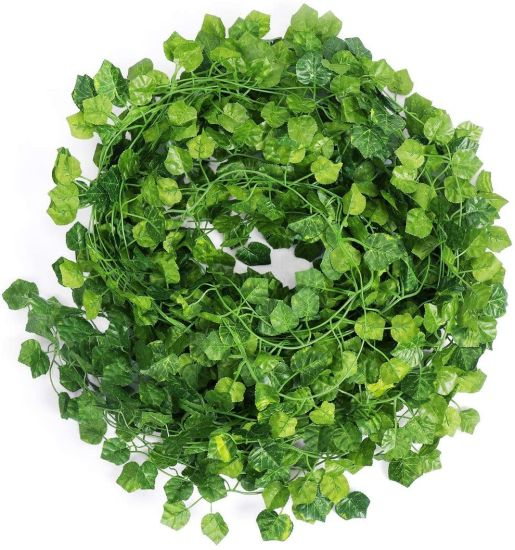 Wholesale Indoor Wall Hanging Leaves, Outdoor Greenery Vine Plants, Artificial IVY for Wedding Party