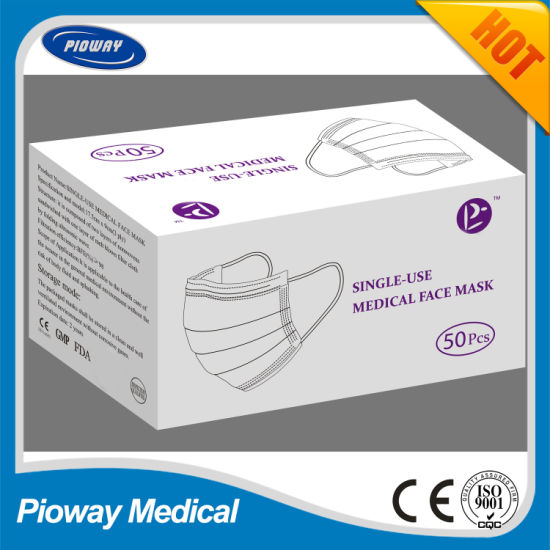 3ply Disposable Face Masks, Medical Mask Facemask in Stock