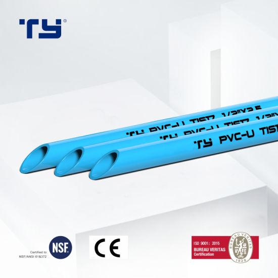 PVC-U Plastic Pressure Tube Pipe Fittings Tis 17-2532/1131-2535 Standard