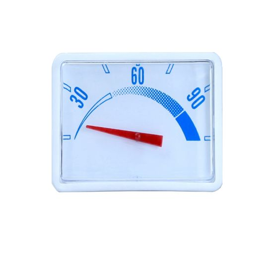 Water Heater Spare Parts Plastic Thermometer