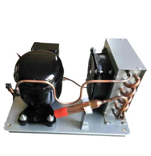 DC 12/24V Air Cooled Small Mini Condensing Unit