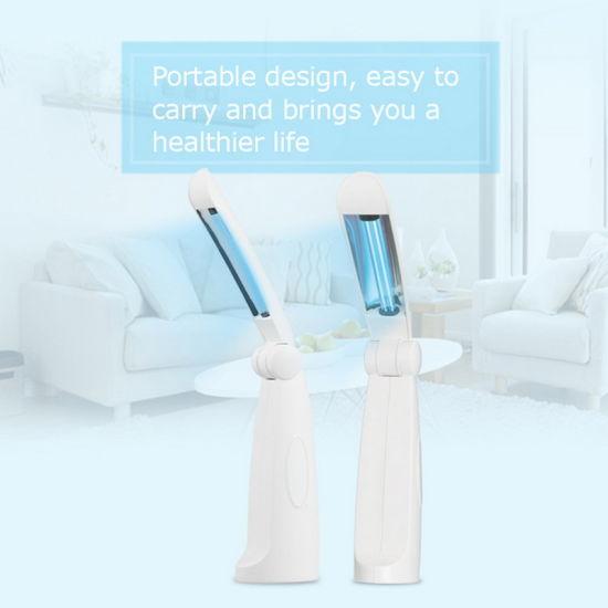 Portable Mini UVC Virus Sterilizer Disinfection UV Room Light
