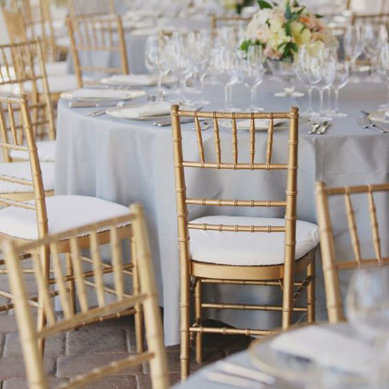 Wholesale Event Party Wedding Use Dining Furniture Stainless Steel Chair