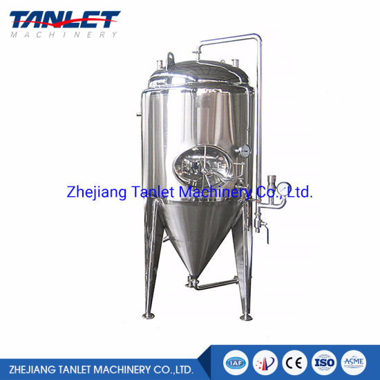 Stainless Steel Dimple Jacketed Brewery Machine Beer Fermentation Tank