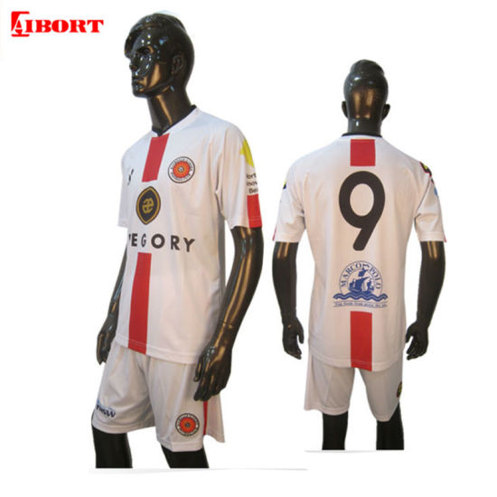 Aibort Sublimate Team Soccer Jersey Football for 2019-20 Club (Soccer 01)