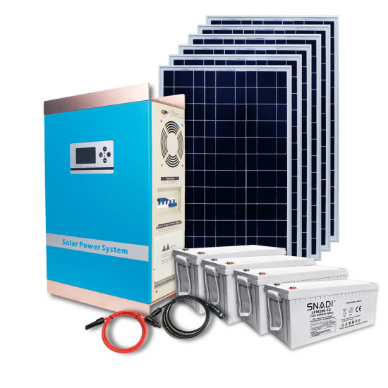 5kw off Grid Home Solar Product Kit PV Energy Mounting Supply Hybrid Inverter Solar Power System