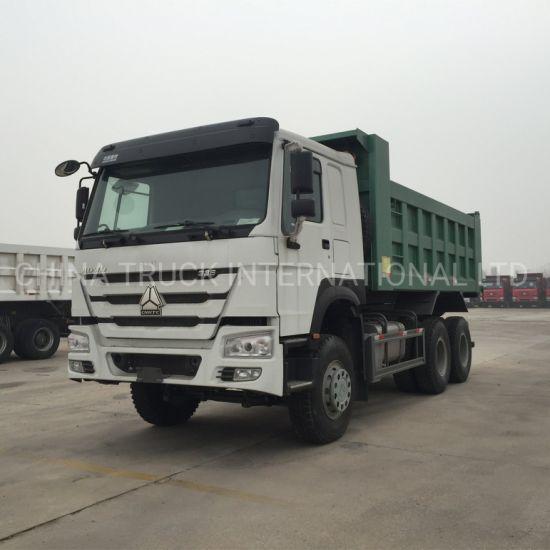 Sinotruk HOWO 6X4 336HP 25-30t Tipper/Dumper/Dump Truck for Minning
