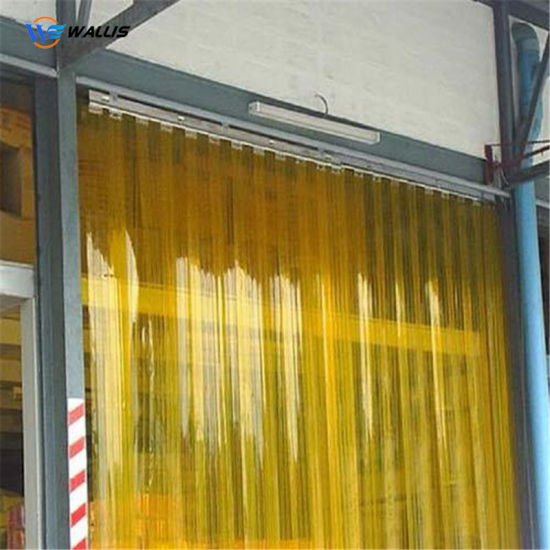No Bubbles Non-Stick Low Temperature Resistant Transparent Soft PVC Plastic Film for Strip Curtains
