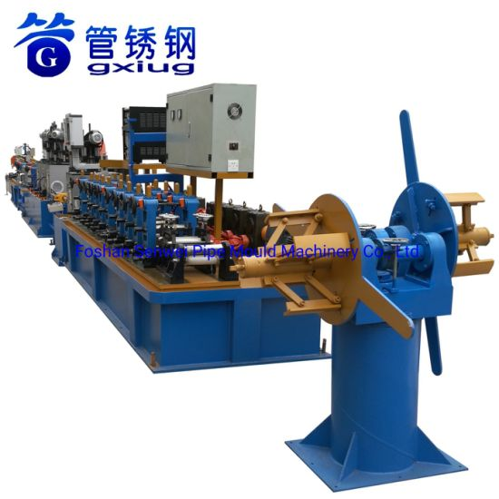 Stainless Steel Food Grade Pipe Making Machine