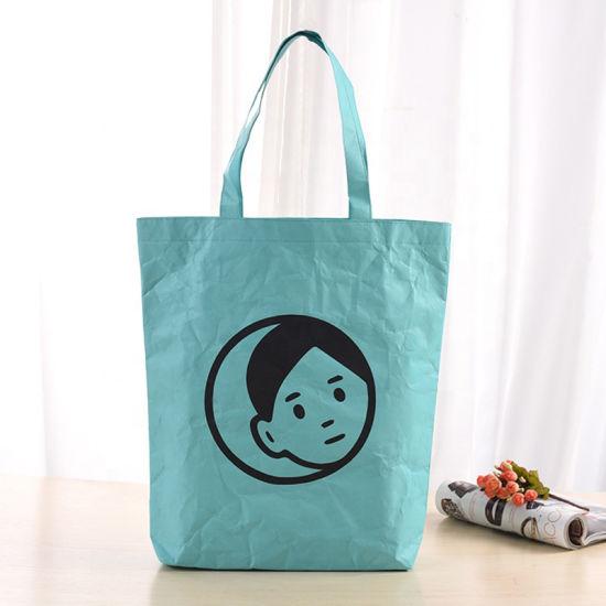 Washable Paper Bag Waterproof Shopping Tote Bags Tyvek Bag