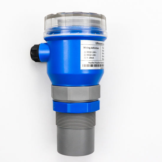 10meters LCD Display Ultrasonic Fuel Level Sensor 4-20mA Ultrasonic Water Level Meter