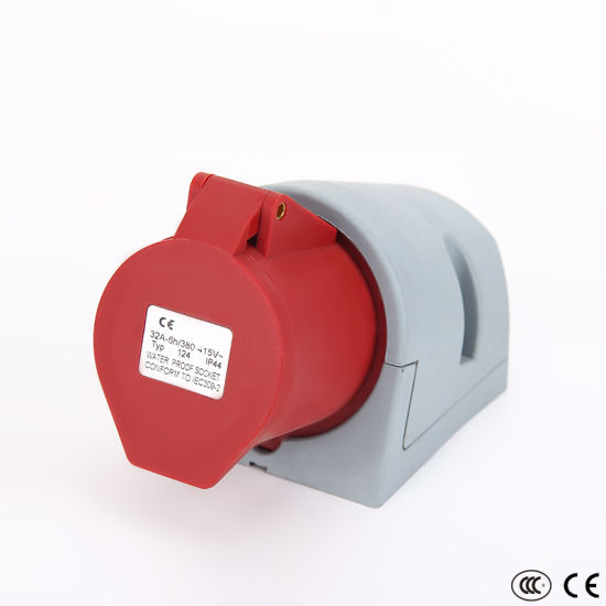 High Quality IP44 32A Cee Form Industrial Mennekes Plug Socket with Great Price