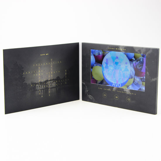 High End Video Direct Mail Greeting Internet Birthday Card For Brand Brochure