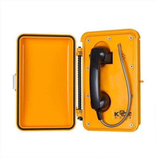 Waterproof Outdoor VoIP Emergency Phone Industrial Tunnel Telephone